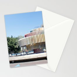 Tel Aviv photo - Dizengoff Square Stationery Cards