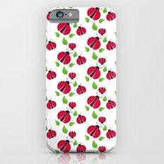 Ladybird pattern iPhone 6s Slim Case