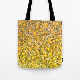 Real Aspen Leaves Ombre Tote Bag