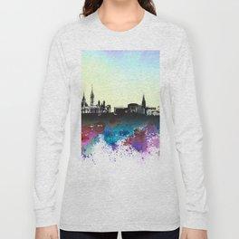 Design 106 Ottawa Skyline Long Sleeve T-shirt