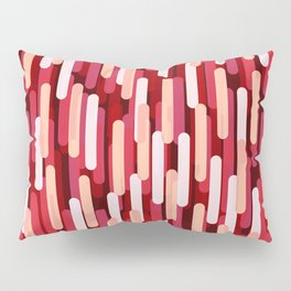Fast Capsules Red Pillow Sham
