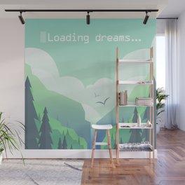 Loading dreams... Wall Mural