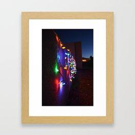 Dancing Lights Southwest  Framed Art Print
