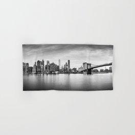 New York city panorama Hand & Bath Towel