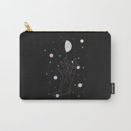 Spotlight - Moon Phase Illustration Carry-All Pouch