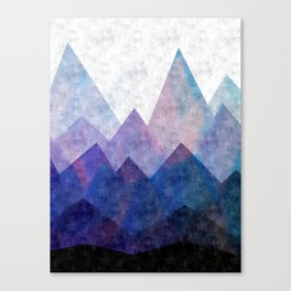 Fresh Peaks Canvas Print