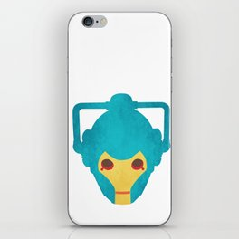 Colorful Cyberman Doctor Who iPhone Skin