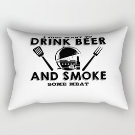 Just want to drink BBQ grill gift Rectangular Pillow