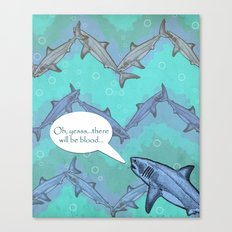 Sharkron 2 Canvas Print