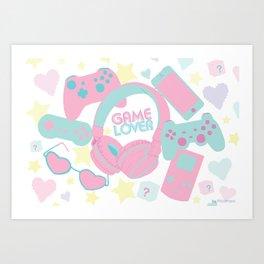 Game Lover Art Print