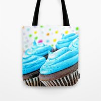 cupcakes Tote Bags featuring Cupcakes by ThePhotoGuyDarren