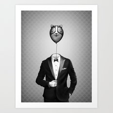 Mr. Kitty Art Print