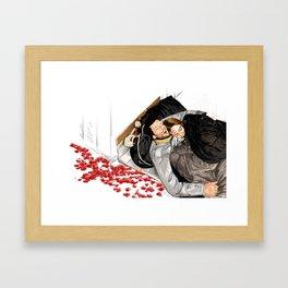 Love will bring us Framed Art Print