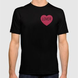Lover (Without Heart) T-shirt