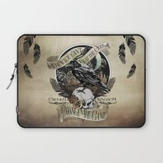 Crooked Kingdom - Change The Game Laptop Sleeve