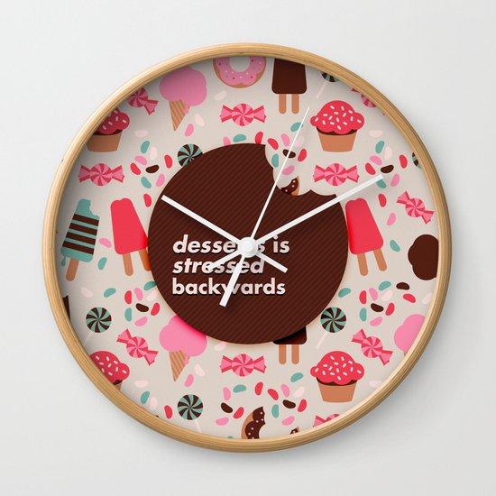 desserts! Wall Clock