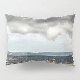 Portsmouth beach Pillow Sham