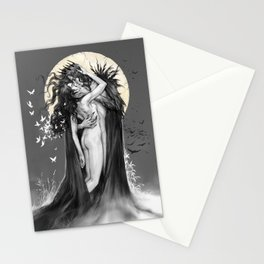 Hades and Persephone Kiss Stationery Cards
