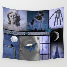 Dream In Blue Wall Tapestry