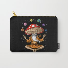 Buddha Magic Mushroom Carry-All Pouch