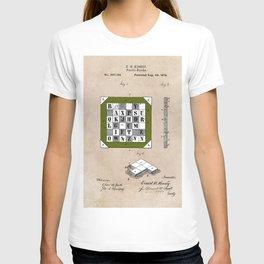 patent Kinsey Puzzle Blocks 1878 T-shirt