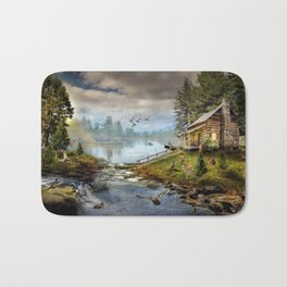 Wildlife Landscape Bath Mat