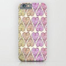 Heart, love, Valentine's Day, Vintage iPhone 6s Slim Case