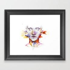 Portrait 3 Framed Art Print