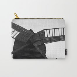 Wooden Windmill Carry-All Pouch