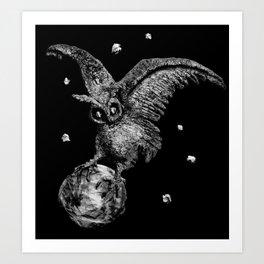 Moon Stealer Art Print