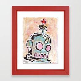 Hey That Looks Just Like That One Robot! Framed Art Print