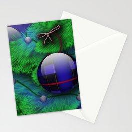 Plaid Christmas Stationery Cards