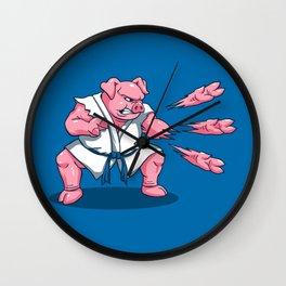 Pork Chops Wall Clock