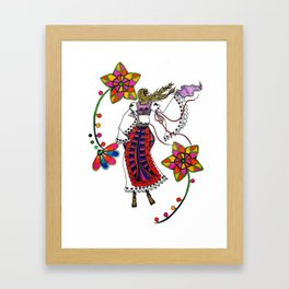 Kolo Dancer Framed Art Print