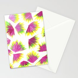 Pink Yellow Green Pop Stationery Cards