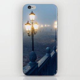 A Foggy Night in Venice iPhone Skin