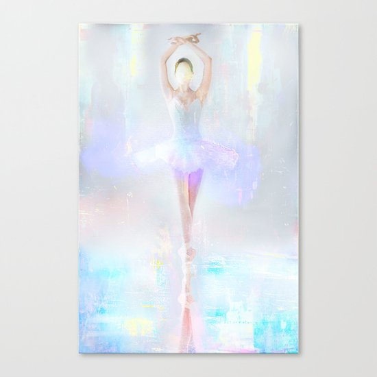 Dance on the water Canvas Print