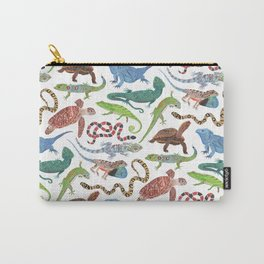 Endangered Reptiles Around the World Carry-All Pouch