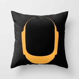 Daft Punk Guy Manuel Helmet Throw Pillow
