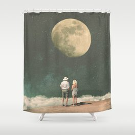 The Presence of Nostalgia Shower Curtain
