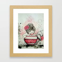 Little Mermaid - Sirenita Framed Art Print