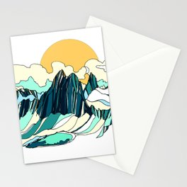 Surrounded by Giants :: Bugaboos Stationery Cards
