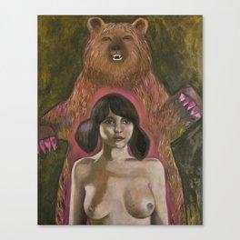 BearLady Canvas Print