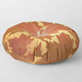 Autumn Leaves Fall Season Floor Pillow
