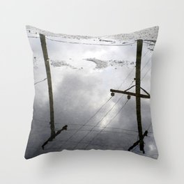 Reflections on Perpendicular Lines Throw Pillow