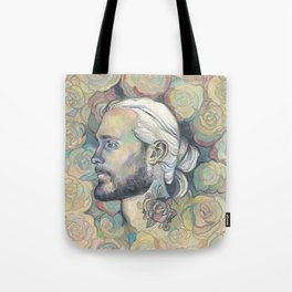 Rose Tatoo - by Fanitsa Petrou Tote Bag