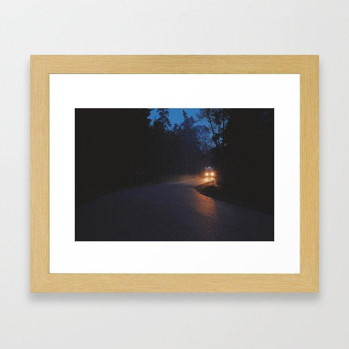 Darkness On The Edge of Town Framed Art Print