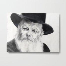 Lubavitcher Rebbe Metal Print