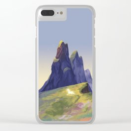 Unicorn Magic Clear iPhone Case