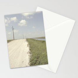 road and canal Stationery Cards